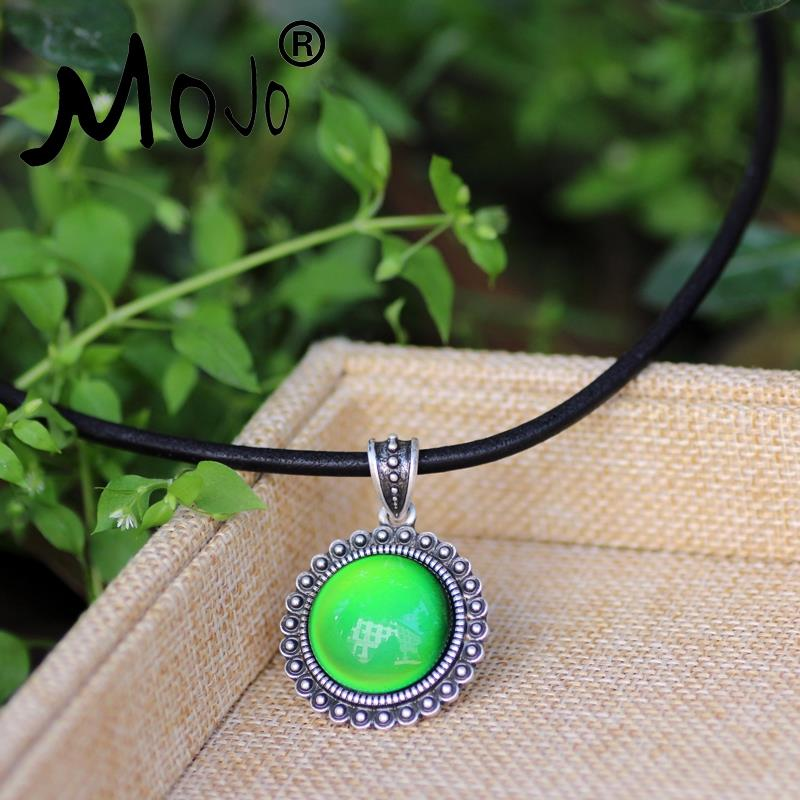 Mojo Classic Sun Punk Style Round Mood Color Changing Leathes
