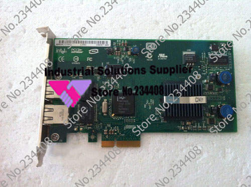 ФОТО 82546GB PCI-E X4 dual port Gigabit Ethernet 100% tested perfect