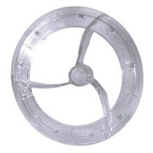 Аксессуары для дробилки льда диаметр 23 см части лезвия для смешивания из поликарбоната для машины для мороженого лезвия для бритвы