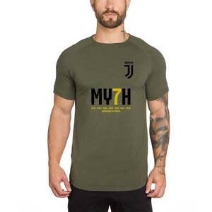 19a49f133c9 MY7H JUVE CAMPIONI D ITALIA 7 Men Short Sleeve Running Sports Shirt