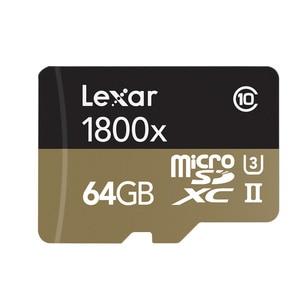 Image 2 - Lexar memoria tarjeta 마이크로 sd 카드 270 메가바이트/초 1800x64 gb microsd tf 플래시 메모리 카드 UHS II sdxc u3 드론 스포츠 캠코더 용