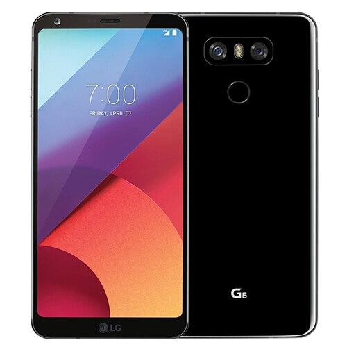 Разблокированный мобильный телефон LG G6 H870DS 64 Гб/H871 32 Гб четырехъядерный двойной 13 МП камера 821 одна/две sim-карты 4G LTE 5,7 дюйма - Цвет: Black
