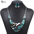 MS1504111 Fashion Brand 4 Colors Jewelry Sets Silver Plated Unique Design Bright Colors High Quality Wedding Jewelry Party Gifts