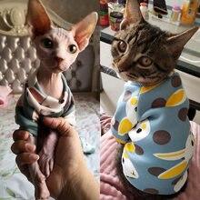 Di Stampa del coniglio del Gatto Dell'animale Domestico del Costume per I Gatti Morbido Kedi Katten Felpa Con Cappuccio Primavera Estate Gatto Vestiti Vestito mascotas ropa para gato