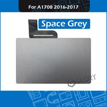 """100% testowany panel dotykowy Space Grey dla MacBook Pro Retina 13 """"A1708 Touchpad z kablem Flex 2016 2017 rok"""
