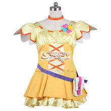 DJ DESIGN Fresh Pretty Cure! Inori Yamabuki Uniform COS Clothing Cosplay Costume(China)
