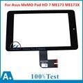 7 pulgadas panel de la pantalla táctil negro con digitalizador para asus memo Pad HD 7 ME173 ME173X K00B K00U Tablet LCDs y Paneles