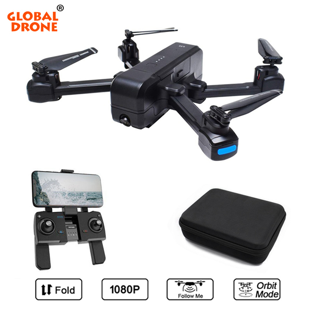 Global Drone Professional GPS Drones with Camera HD 1080P Follow Me Dron Auto Return Quadrocopter Camera Drone X Pro VS F11 F22