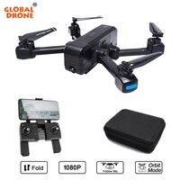 Global Drone Профессиональные с GPS Дроны с камерой HD 1080 P следить за мной Дрон авто возврат камера квадрокоптера Дрон X Pro VS F11 F22