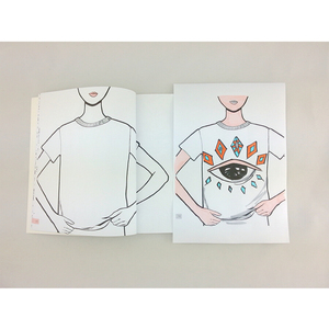 Image 5 - Clothing design hand painted course books for Draw your fashion illustrations textbook
