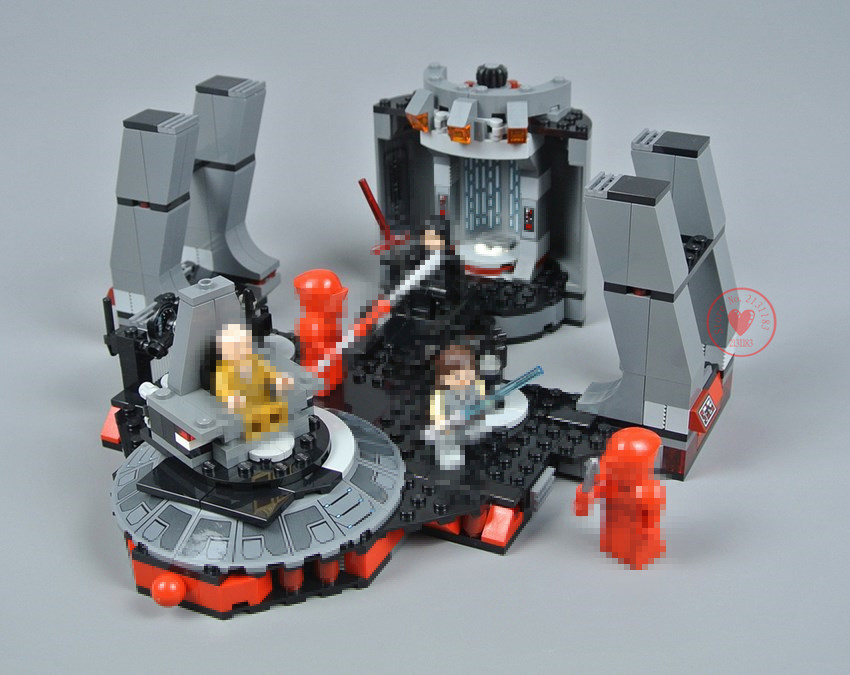 New Star fighter Series Snoke`s Throne Room fit legoings star wars figures city Building Blocks Bricks Toy 75216 kid diy Gifts 2018 new lepin 05148 star wars snoke s throne room set model building kits blocks bricks children toys compatible legoing 75216
