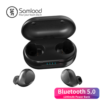Samload Wireless Headphones Bluetooth Earphone 5.0 Video Game in ear Earbuds with Portable Charging box For Xiaomi Huawei Sony  sony беспроводные наушники