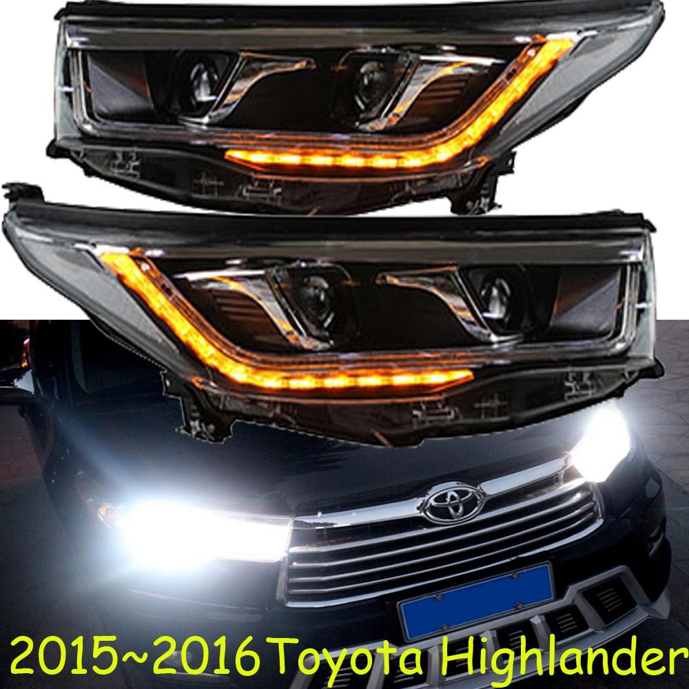2015 2016 Toyota Highlander Suv Headlight With Bi Xenon