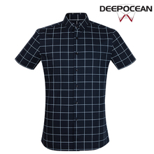 Модные мужские рубашки Мерсеризованный хлопковая рубашка тонкий Бизнес Повседневная рубашка Camisa De Hombre