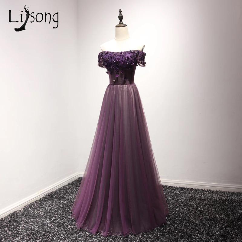 Famoso Vestidos De Dama De Ciruela Oscura Ideas Ornamento ...