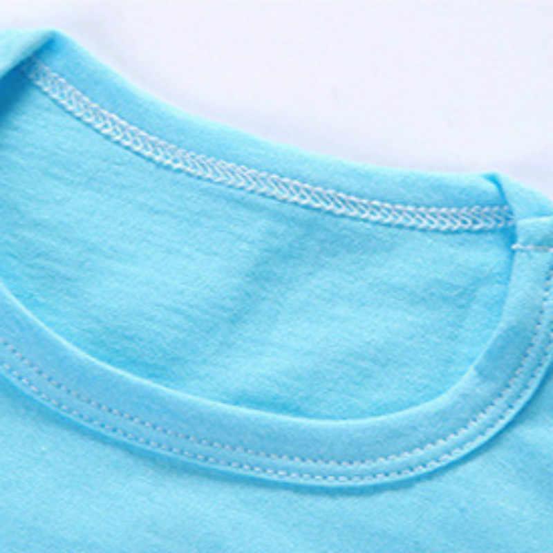 Детские топы; детская одежда; хлопковые футболки для девочек; летние футболки с короткими рукавами для мальчиков; пляжная одежда 2019 года; одежда для маленьких девочек