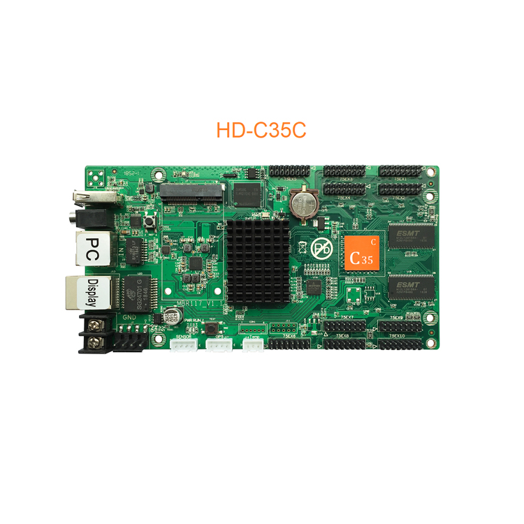 2019 Huidu HD-C10 C10C C30 Upgrade To HD-C15 C15C C35 C35C The 3th Generation of Asynch Full Color LED Screen Control Card