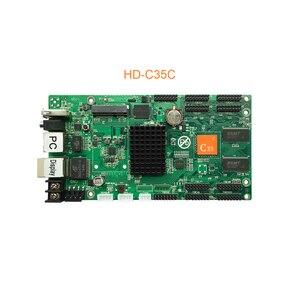 Image 4 - 2020 Huidu HD C10 C10C C30 yükseltme HD C15 C15C C35 C35C en 3th nesil Asynch tam renkli LED ekran kontrolü kart