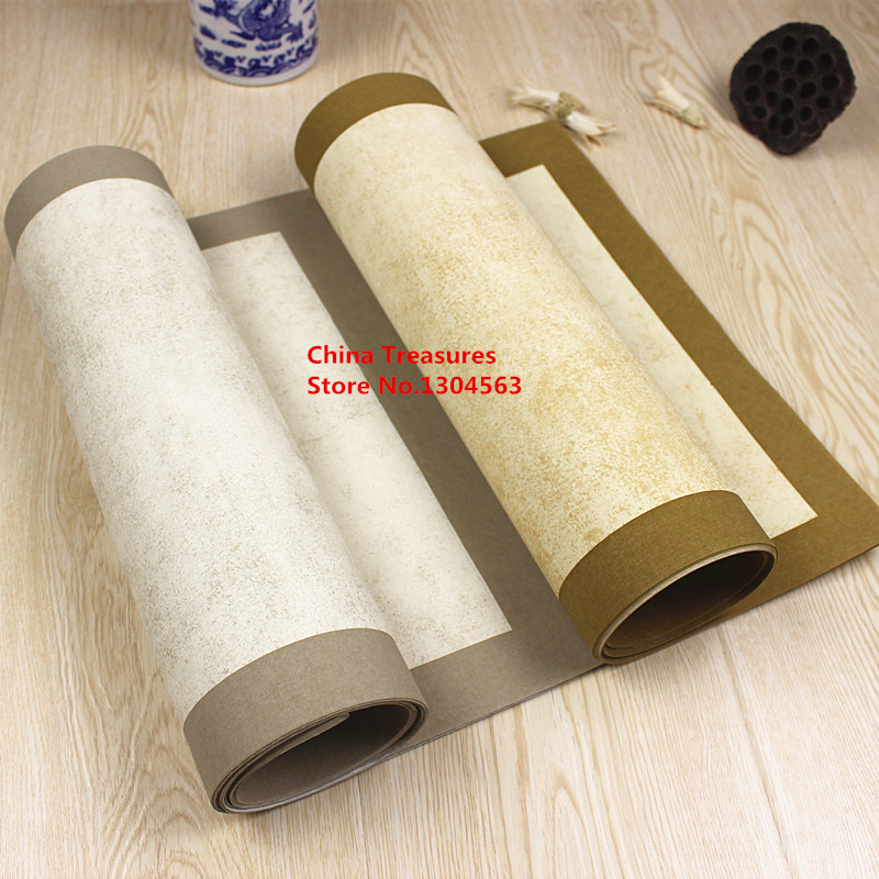 10sheets/lot,34cm*138cm,Chinese Xuan Paper Rice Paper Calligraphy Writing Ban Sheng Ban Shu