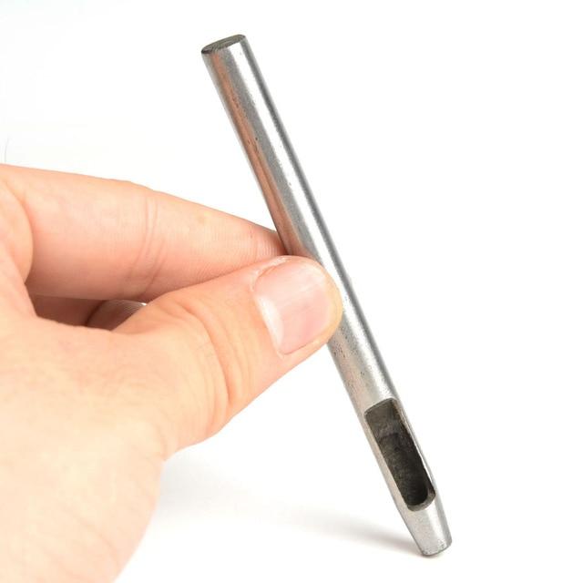 Poinçons de ceinture pour œillet | Sac à fermeture de 5mm,6mm,7mm,8mm, trous de ceinture,