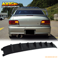 For 93-01 Subaru Impreza VTX Vortex VG Style Roof Fin Spoiler Painted Matter Black