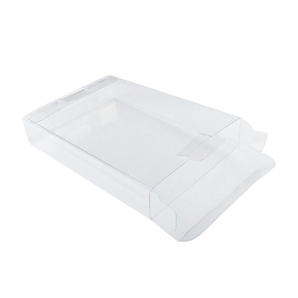 10Pcs Clear Game Cartridge Storage Box Protective Case for Nintendo N64 SNES Game accessory