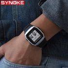SYNOKE Mens Digital Watches Sports Waterproof Watches Man Fitness Watch Mens Fashion Watch Men Digital Wristwatches Mens