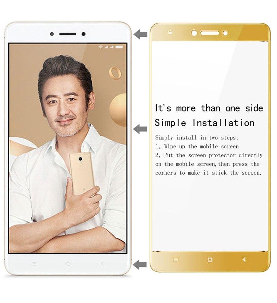 Imak полное покрытие закаленное Стекло для Xiaomi Redmi Note 4 x 4x Глобальный Версия Стекло 5.5 Экран протектор Защитная плёнки безопасный случай