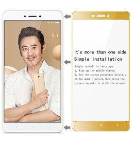 Image 5 - Imak Full Cover Gehard Glas voor Xiaomi Redmi Opmerking 4 X 4X Global Versie Glas Snapdragon625 Screen Protector Beschermende Film