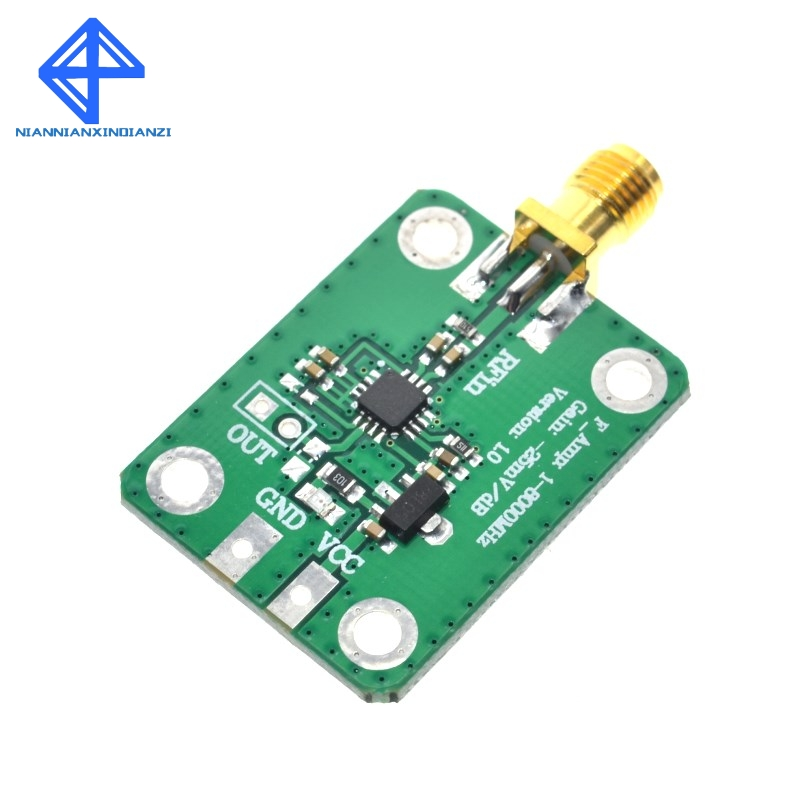 AD8318 Logarithmic Detector-70dB RSSI Measurement Power Meter(1-8000MHz)