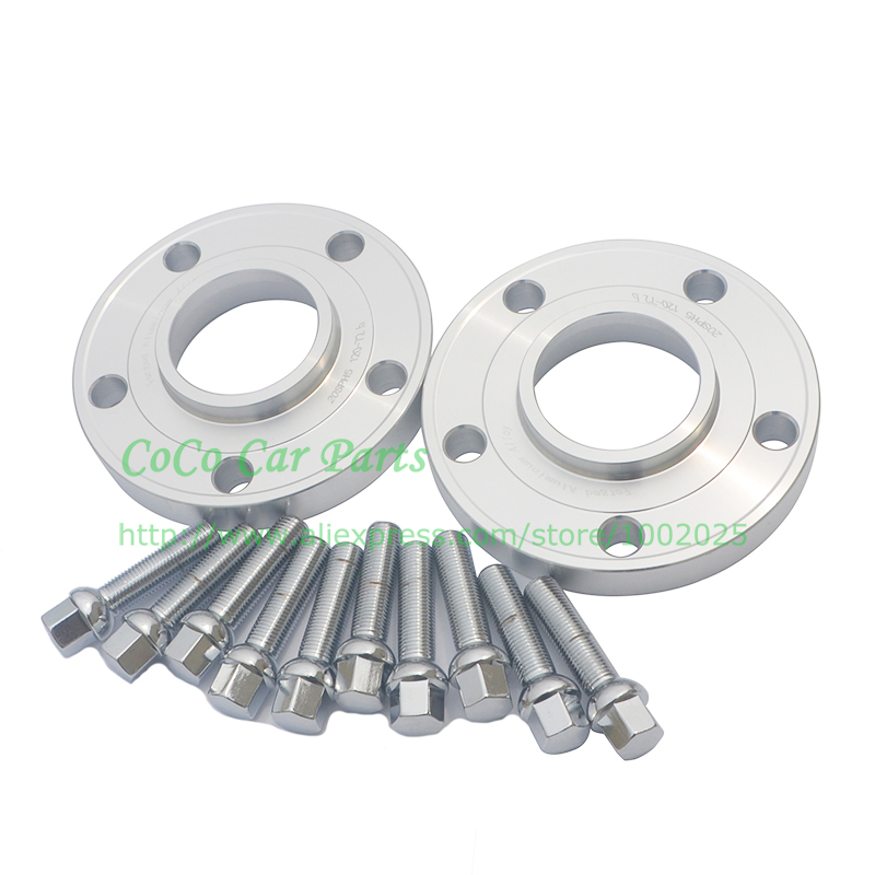 12mm W//Bolts 5mm /& 2 4 6 Pc Mercedes Benz Hub Centric Wheel Spacers 5x112mm