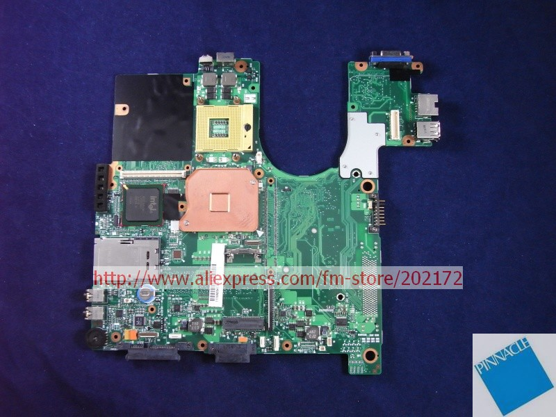 V000068510 Motherboard for Toshiba Satellite A100 A105 6050A2041301 nokotion sps v000198120 for toshiba satellite a500 a505 motherboard intel gm45 ddr2 6050a2323101 mb a01