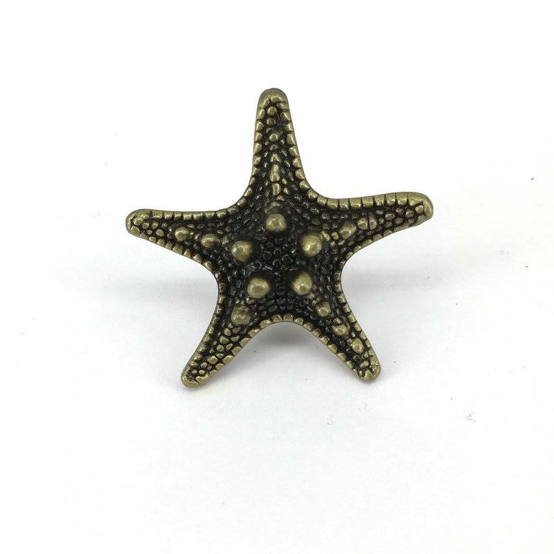 Aliexpress.com : Buy Antique Bronze Starfish Drawer Knobs Pulls Kitchen  Cupboard Drawer Wardrobe Door Handle From Reliable Wardrobe Door Handles  Suppliers ...