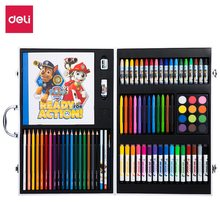 Deli Paw Patrol Colored Pencils Set Colors Lead Hardness HB Professional Colored Pencils for Art School Office Supplies Gift стоимость
