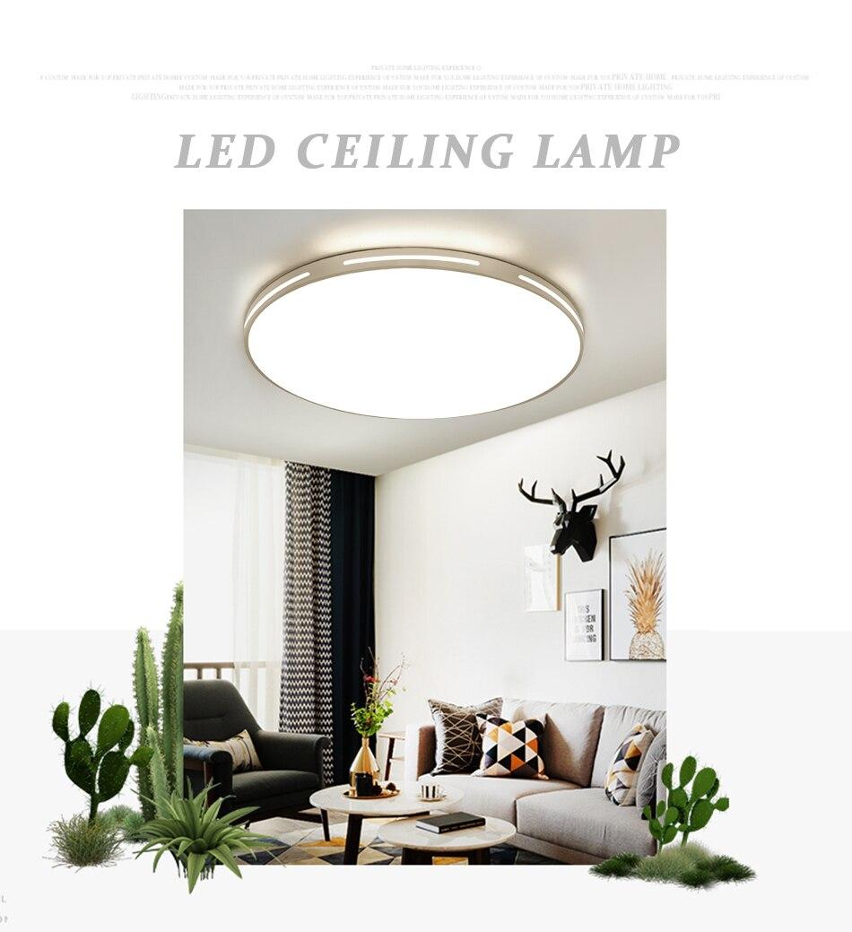 HTB1dwKYUsfpK1RjSZFOq6y6nFXat Modern LED Ceiling Light Simple Decoration Fixtures for Study Dining Room Bedroom Living Room Balcony Ceiling Lamp AC110v 220v