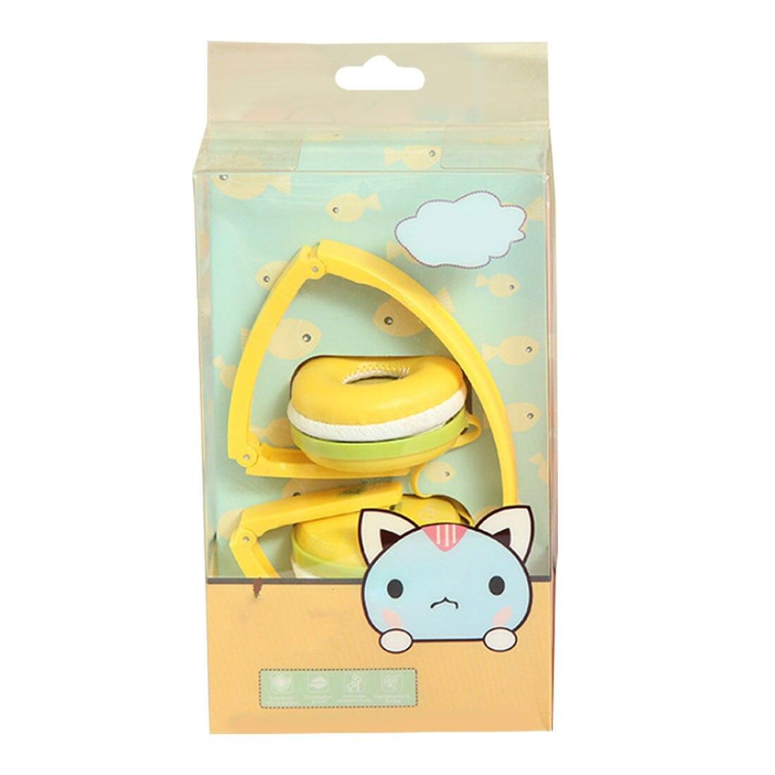 Marsnaska  Birthday Girl Children Gifts Cute Candy Color Foldable Kids Headset Earphone for Mp3 Smar
