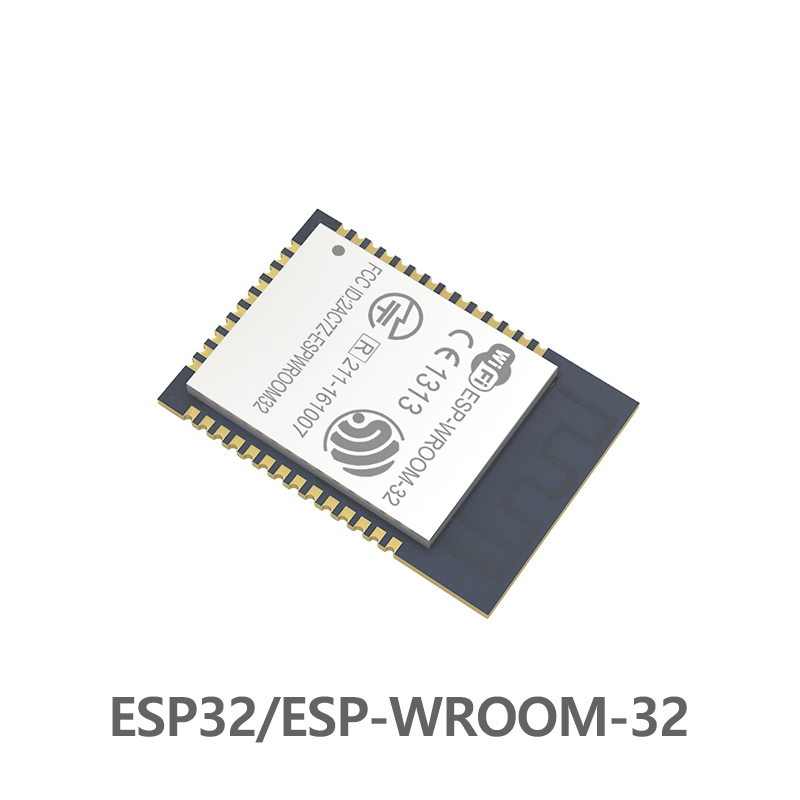 ESP-WROOM-32 ESP32 Wifi+Bluetooth Dual Core MCU 2.4GHz Wireless Rf Transceiver Low Power Ble 4.2 Transmitter 240MHz 4MB  Module