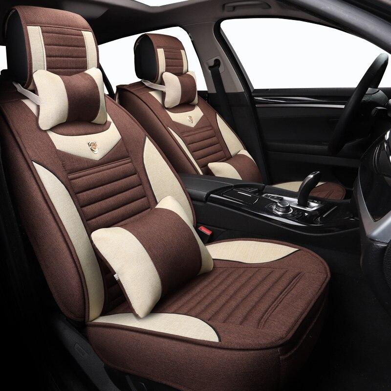 Haute qualité ligne housse de siège de voiture pour Buick Enclave 2008 housse de siège ensemble voiture style siège protecteur noir housse sièges coussin