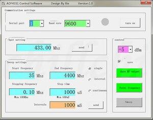 Image 4 - ADF4350/ADF4351 RF מודול סחף תדר RF אות מקור wideband סינתיסייזר תדר 4.4G