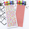 800Pcs/set 4mm Self Adhesive Rhinestones Acrylic Stickers for phone for face DIY Decal Scrapbooking Stickers Kids Rhinestones