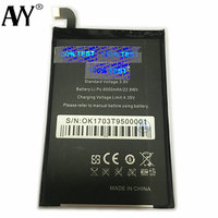 Battery For Oukitel K10000 6000mAh 5 5inch Mobile Phone Rechargeable Li Ion Batteries Batteria 100 Tested