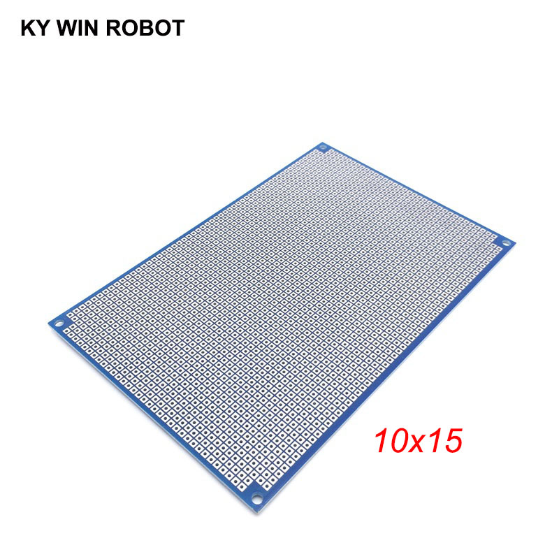 1pcs 10x15cm 100x150 Mm Bule Double Side Prototype PCB Universal Printed Circuit Board Protoboard For Arduino