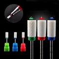 HOT Flame Ceramic Nail Drill Bit For electric manicure machine accessories Nail Art Tools Electric Manicure Cutter Nail Files