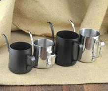 Fine thickening 304 stainless steel ear coffee pot small mouth drip pot gooseneck spout kettle