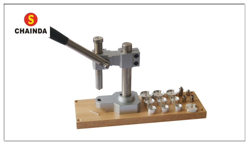 Heavy Duty Press Good for Mineral Glass Crystals with Gaskets and Tension Ring