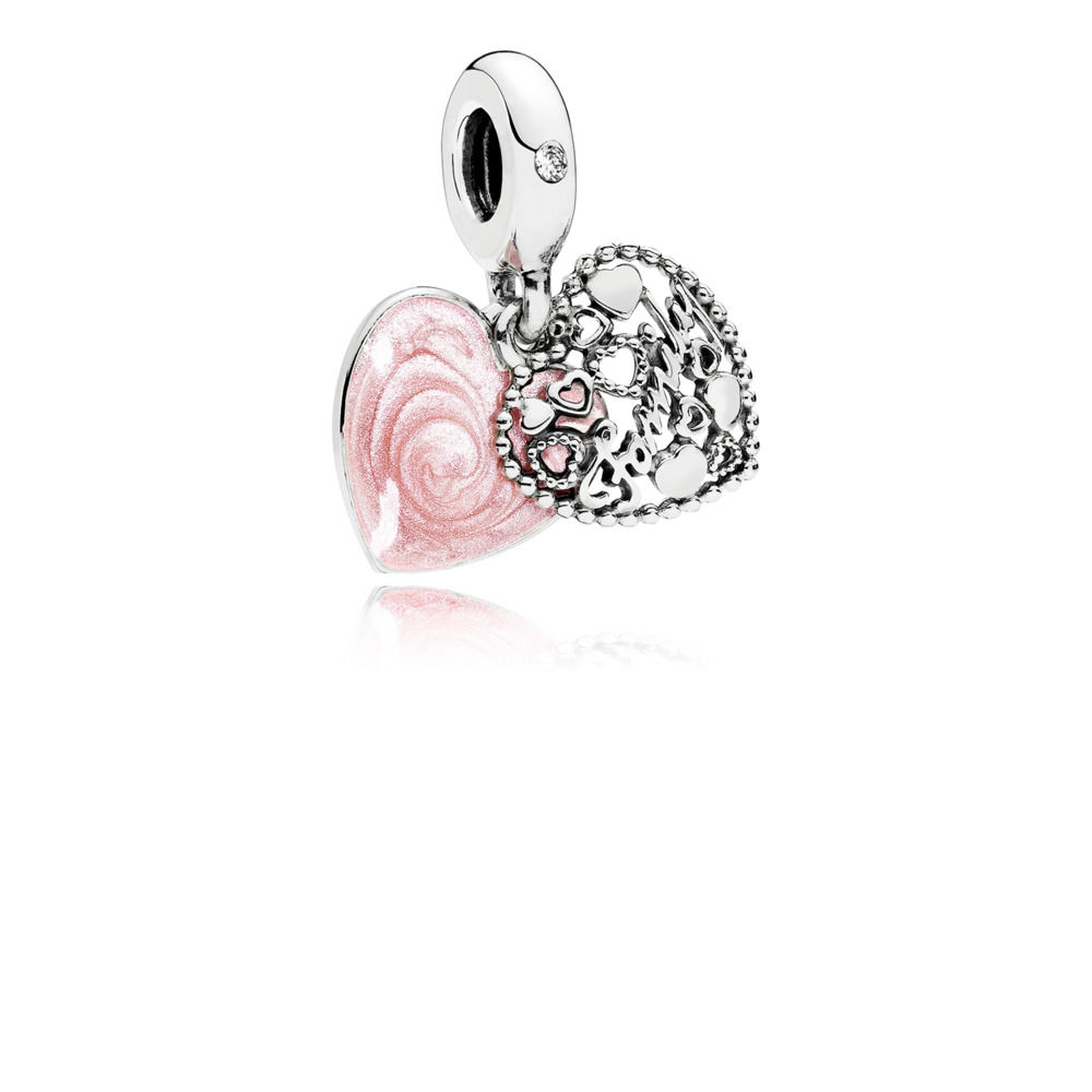 Hot Sale Silver Beads Key Shell Rainbow Glaze Pendants Bead For 925 Original Pandora Charm Bracelets Bangles Jewelry in Beads from Jewelry Accessories