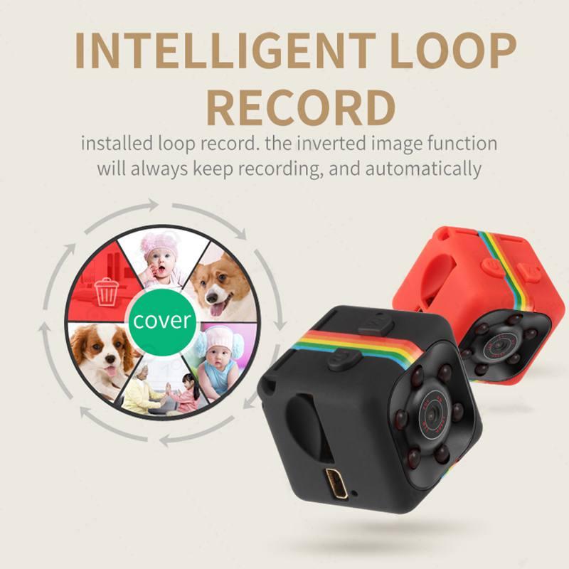 Nachtsicht Video Voice Recorder SQ11 Mini Kamera 640*480 DV Micro Sport Kamera Auto DVR Mini Action Cam camcorder N