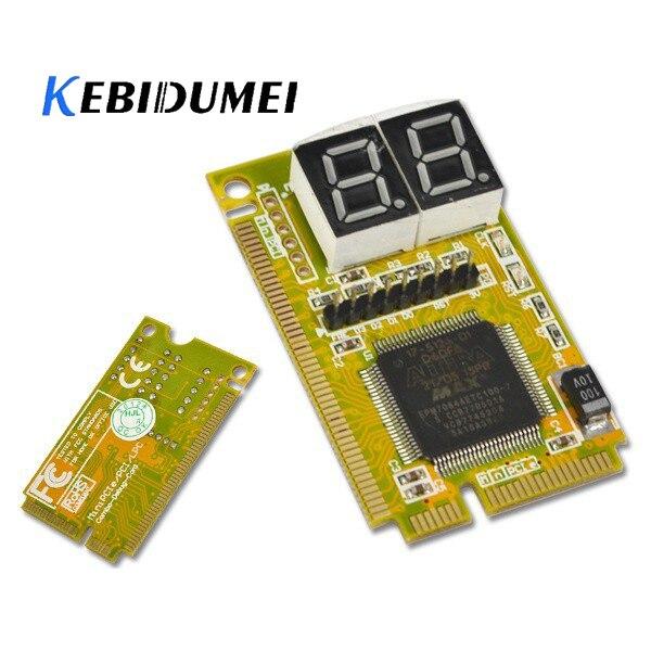 Kebidumei 3 trong 1 Mini PCI-E Express/PCI/PCI LPC Tester Chẩn Đoán Combo Gỡ Lỗi Thẻ Adapter cho Máy Tính Xách Tay Máy Tính Xách Tay máy tính