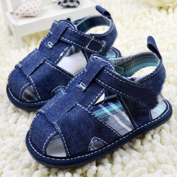 Jean Style Newborn Baby Shoes Boy Girl Kid First Walkers Infant Cozy Soft Toddler Shoes