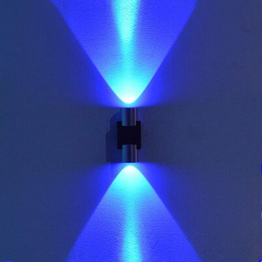 2W led wall light Wall mounted AC85 265V Sconce Decor